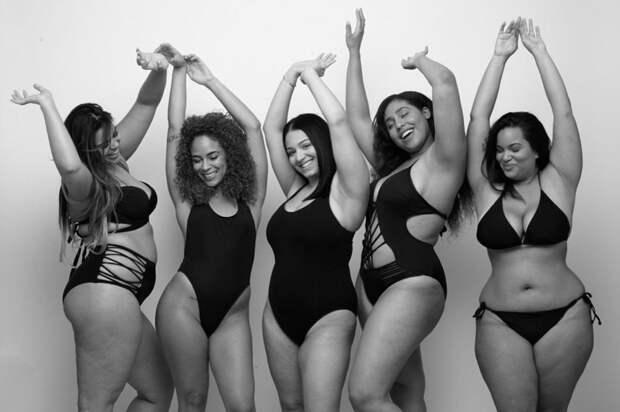 """Женщины в Инстаграме запустили кампанию боди-позитива под хештегом """"Потому что это мое тело"""" Instagram, боди позитив, тело"""
