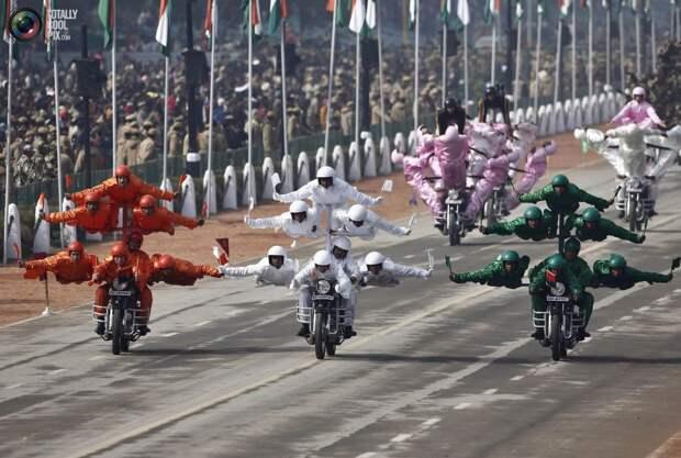Индийские каскадёры