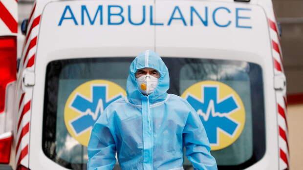 На Украине за сутки выявлено 6796 новых случаев коронавируса