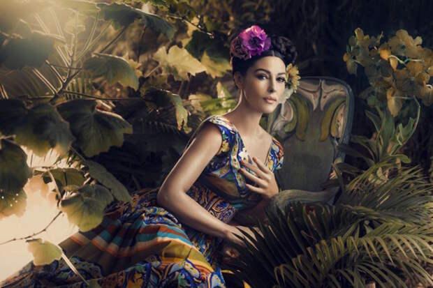 Забытая фотосессия Моники Белуччи celebrities, моника белуччи, ностальгия