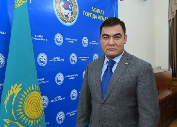 Ержан Сейтенов назначен акимом Алмалинского района