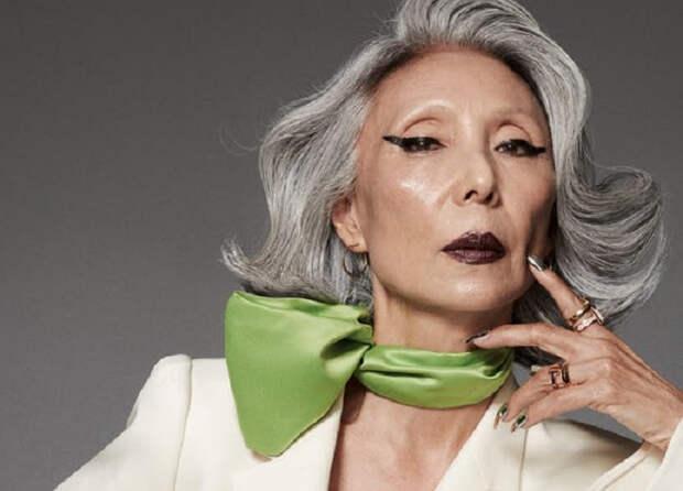 65-летняя пенсионерка перестала бояться старости, стала моделью и прославилась
