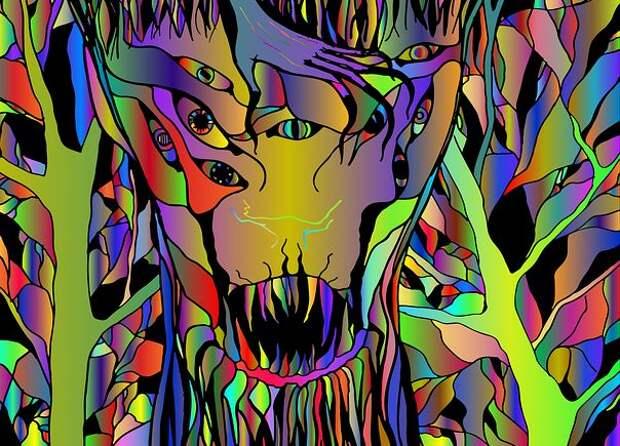 Почему при потреблении психоделиков многие люди видят странных существ?