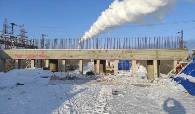 Новый путепровод на ул. Конституции в Оренбурге должны построить к концу 2021 года