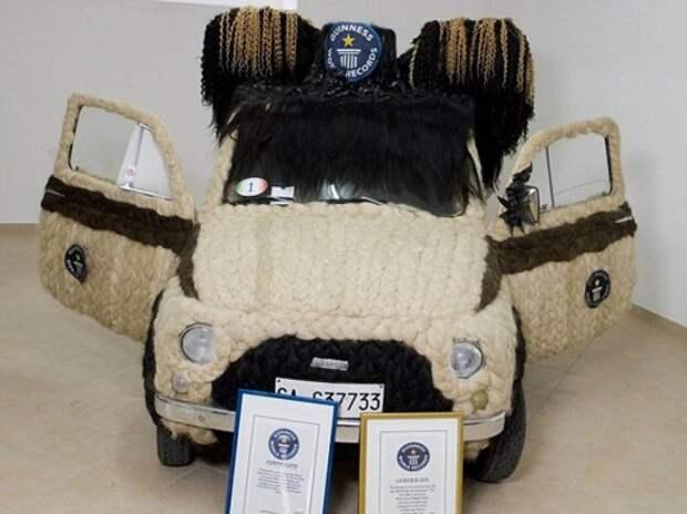 Итальянка создала прическу для Fiat