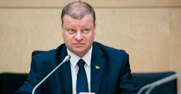 Премьер Сквернялис жалуется на«низкое игадкое» вполитике Литвы