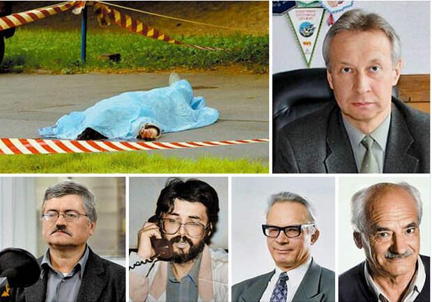 Убийства русских учёных