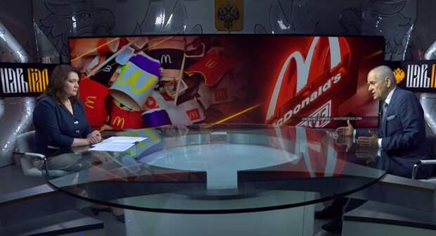 """""""Физиологически неполноценное питание"""": Онищенко идёт войной на """"Макдональдс"""""""