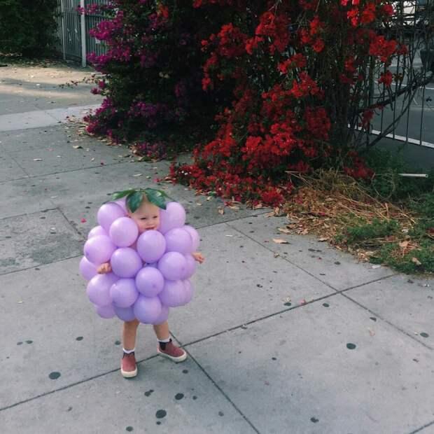 Костюм винограда своими руками