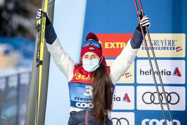 Реакция норвежцев на победу русской лыжницы-красавицы Ступак