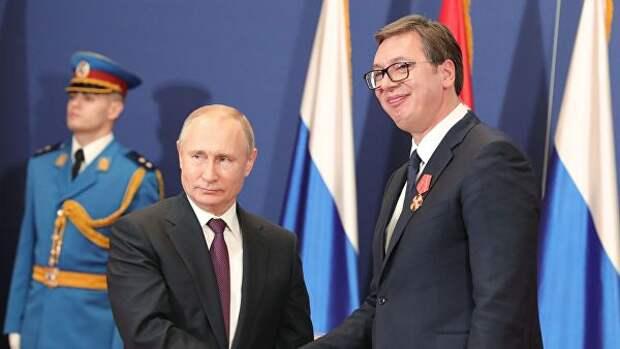 Самый важный аспект визита Путина в Сербию