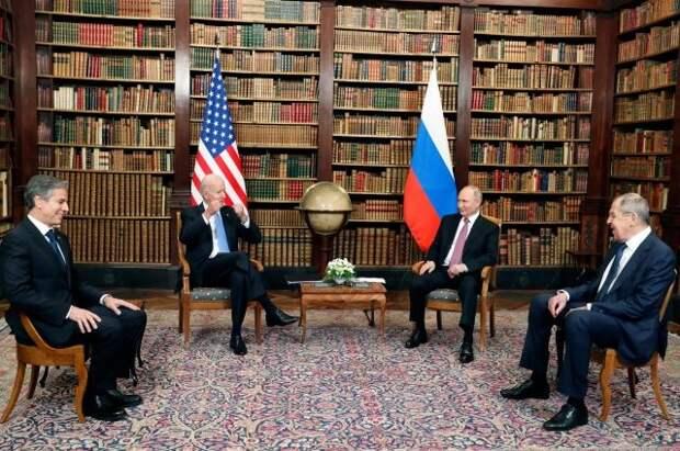 Путин поблагодарил Байдена за инициативу проведения саммита