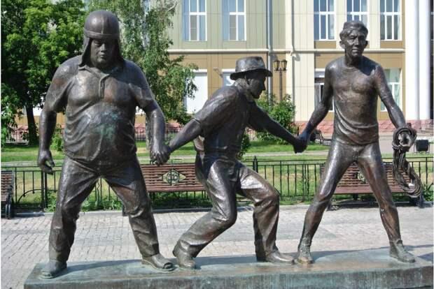 Интересные истории о Трусе, Балбесе и Бывалом